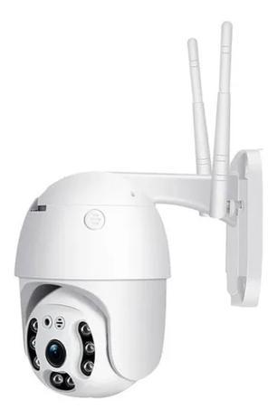 Imagem de Câmera ip Externa Rotativa Dome 2 Antenas Wifi Hd Icsee