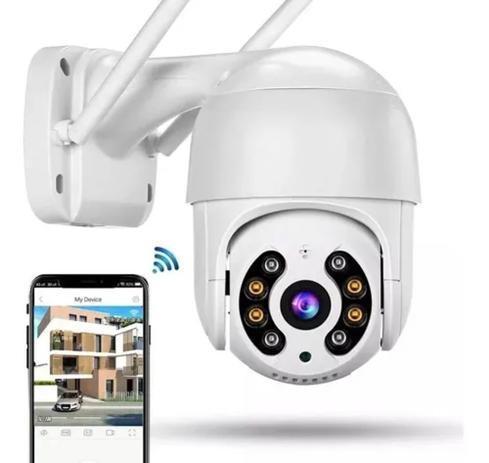 Imagem de Câmera Ip Externa Speed Dome Wifi Auto Tracking Ip66 Ptz