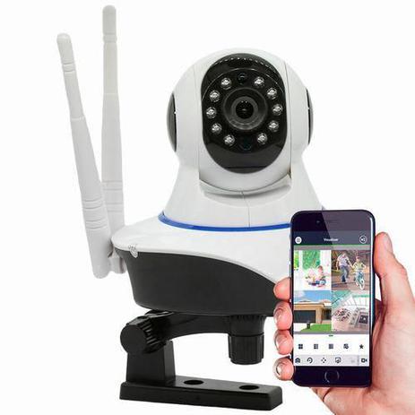Imagem de Câmera IP Robô Sem Fio FULL HD 1080p 360º Áudio
