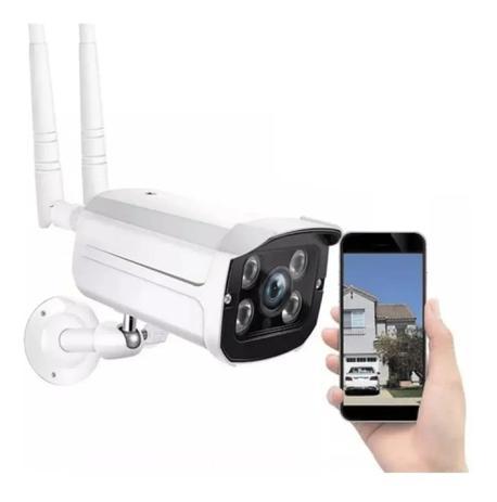 Imagem de Câmera Ip Wifi Externa 2 Antenas Hd Acesso Remoto! Yoosee