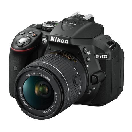 Imagem de Câmera Nikon D5300 kit Lente AF-P DX 18-55mm VR