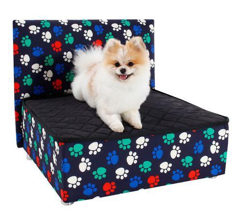 Imagem de Caminha Box Pet + Cabeceira Luxo Cachorro e Gato