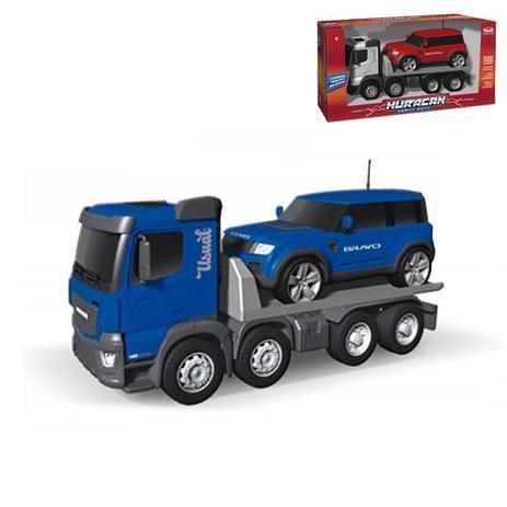 f271f6c6794 Caminhão Huracan Plataforma Bravo 54 Cm Usual Brinquedos - Carrinhos ...