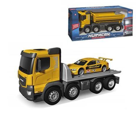 952a7a9d04e Caminhão Huracan Plataforma Stock Car 54 Cm Usual Brinquedos ...