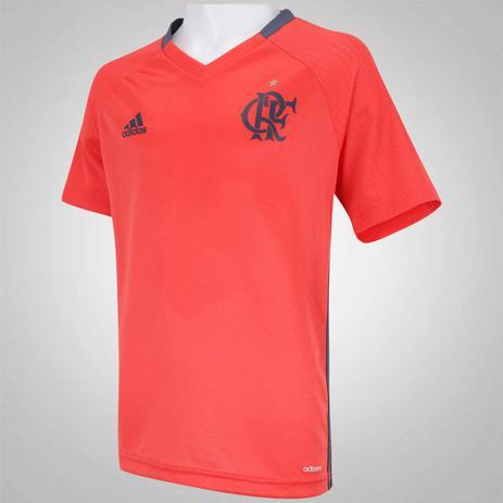 Camisa Adidas Flamengo Treino 2016 - Vestuário Esportivo - Magazine ... 9dc8da4abe637