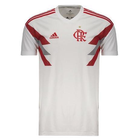 dd8de71e2c5dc Camisa adidas Masculino Flamengo Pre Jogo I Branca Cw5816 ...