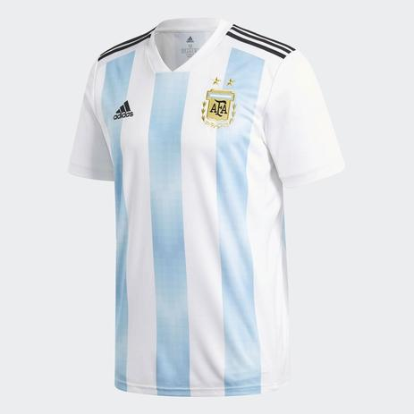 573114ac90c58 Camisa Argentina Adidas Oficial 1 2018 - Vestuário Esportivo ...
