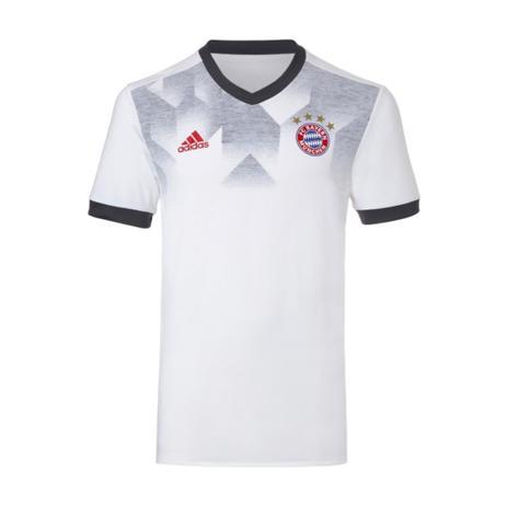 0bce4f7241 Camisa Bayern De Munique Adidas Pré-jogo Branca 2018 - Vestuário ...