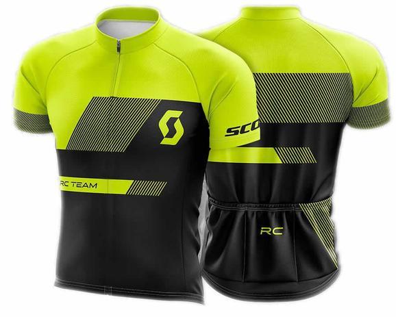 Camisa befast scott rc team preta e amarela - Vestuário Esportivo ... b3452124b