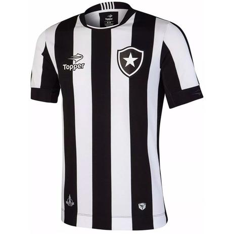 Camisa Botafogo Topper Oficial Home 4137480 - Camisa de Time ... 2bc32bab67d07