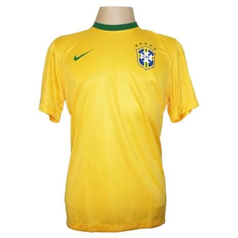 a64e314c2989d Camisa Brasil Home Torcedor - Tamanho Infantil - Nike - Vestuário ...