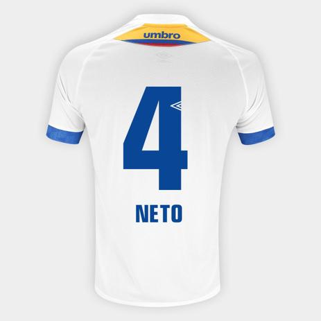 47abe259c1 Camisa Chapecoense II 2018 N 4 Neto - Torcedor Umbro Masculina ...