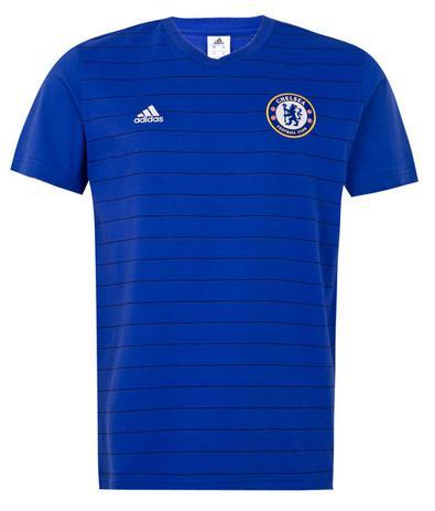 add46295ae9bb Camisa Chelsea Adidas Algodão 2018 Azul - Camisa de Time - Magazine ...