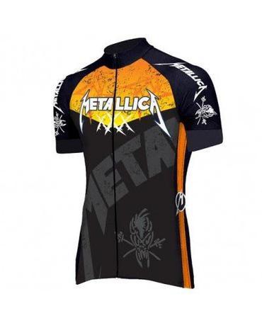 Camisa ciclismo metallica preta rock - Banda rock - Vestuário ... d3ebff95b
