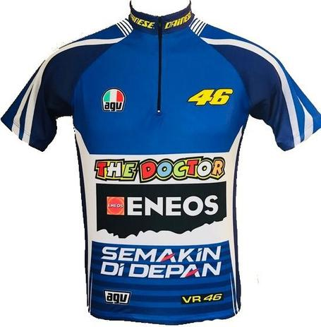 aaa1bdebf1 Camisa Ciclismo Mtb Valentino Rossi - Pro tour - Camisa de Ciclismo ...