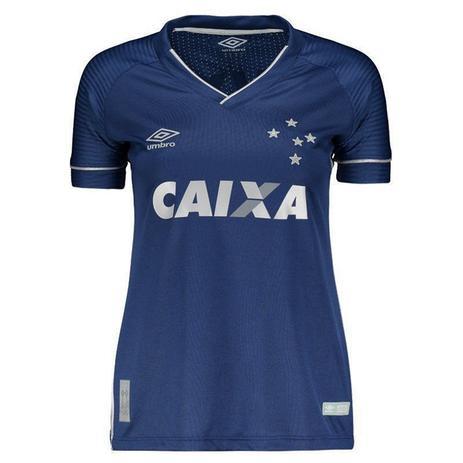 20764ca3fa Camisa Cruzeiro Umbro Oficial 3 2017/2018 - Feminina - Roupas ...