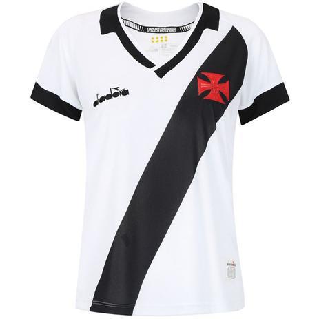 941478b20a24 Camisa Diadora Vasco da Gama Away 2019 Feminina (Fan) - Camisa de ...