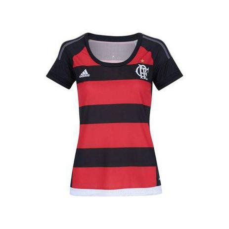 2bd6e984b15 Camisa Feminina Flamengo I 2015 s nº adidas - Vestuário Esportivo ...