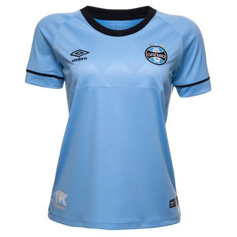 Imagem de Camisa Feminina Grêmio Umbro Oficial Charrua 2018