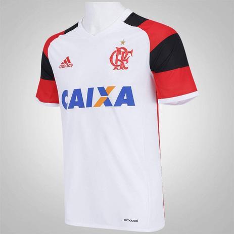592fe8ee8e3c6 Camisa Flamengo adidas Branca 2016 - Futebol - Magazine Luiza