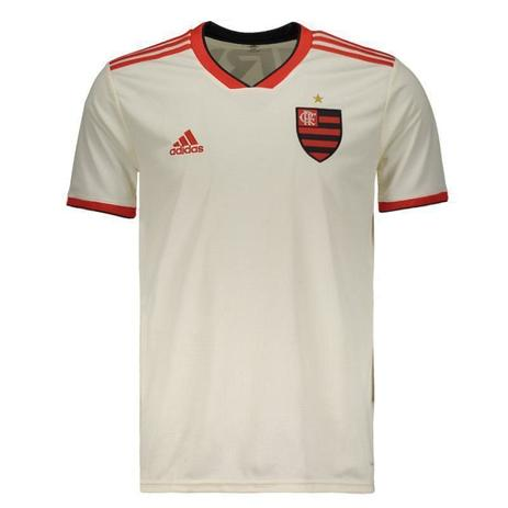 bcfc39f841ac1 Camisa Flamengo Adidas II Branca 2018 - Futebol - Magazine Luiza