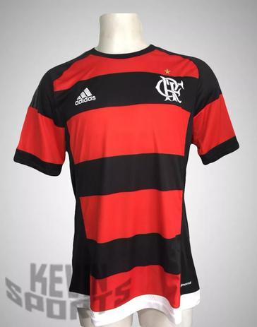 4b68a7c67a Camisa Flamengo adidas Rubro-negra 2015 - Camisa de Time - Magazine ...