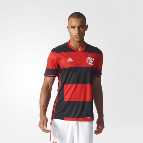 bb9f4126f5 Camisa Flamengo Adidas Rubro Negra Jogo 2016 Torcedor - Camisa de ...