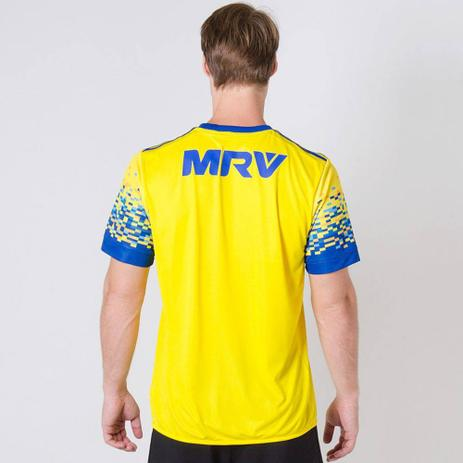 01efc63fc8 Camisa Flamengo III 17 s/nº Torcedor Adidas Masculina - Amarelo e Azul