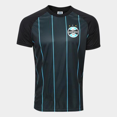 Camisa Grêmio Retro Masculina - Preto - Camisa de Time - Magazine Luiza ca87e6ae2cc23