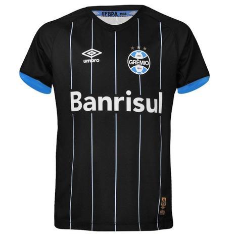 Camisa Infantil Gremio Oficial Umbro 3G00035 - Camisa de Time ... 57a08ba89c710