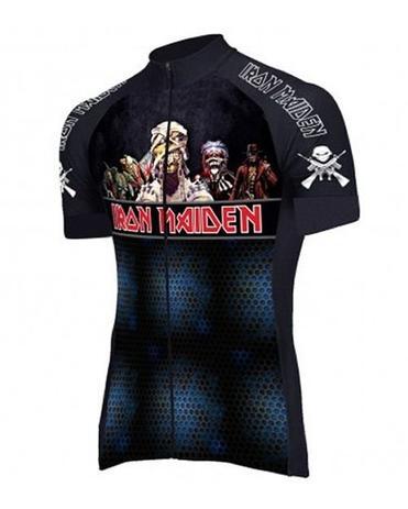 Camisa iron maiden ciclismo rock - Banda rock - Vestuário Esportivo ... 24f4766eb502b