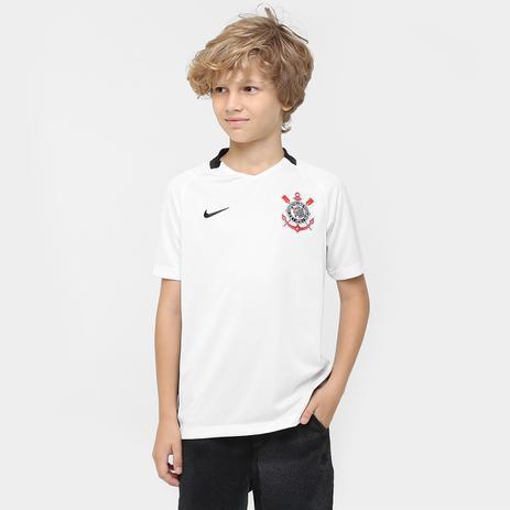 904d5b85ee Camisa Juvenil Corinthians I Nike 777092 - Camisa de Time - Magazine ...