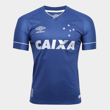 Camisa Juvenil Cruzeiro Umbro Oficial 3 2017 2018 - Camisa de Time ... 1ba83b0593b0b