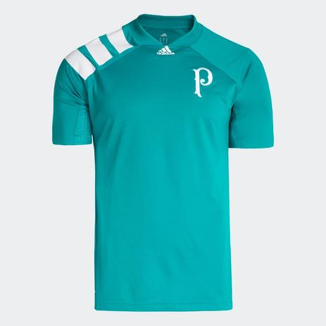 mejor baratas Mejor precio garantía de alta calidad Camisa Palmeiras adidas Pré Jogo Tango Verde