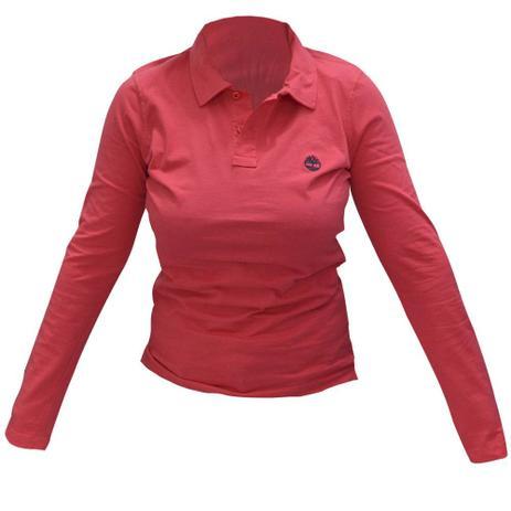1a04b8196e2a4 Camisa Polo Timberland Uniforme ML Fem Timberland - Vestuário ...