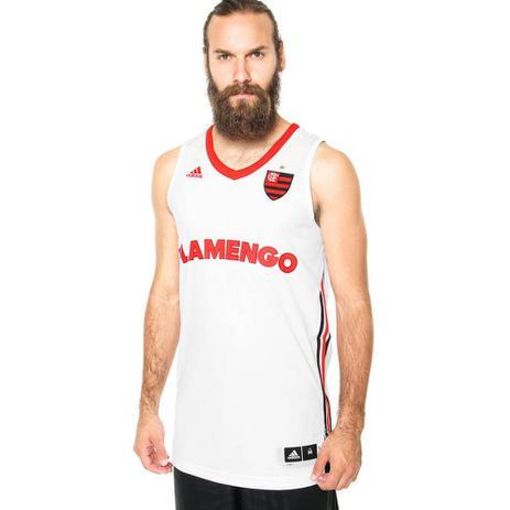 ba74fd15f Camisa Regata Adidas Flamengo II 2015 Basquete - Camisa de Time ...