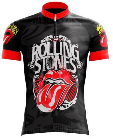 Camisa rolling stones ciclismo - Banda rock - Vestuário Esportivo ... d877eac5335cf