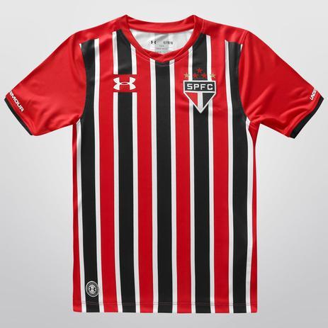 c9779f92471 Camisa São Paulo Infantil Ii Under Armour Listrada 2016 - Camisa de ...