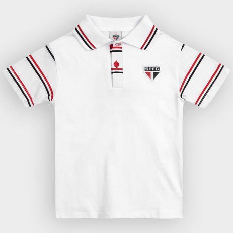 a63682afec Camisa São Paulo Infantil Polo Masculina Oficial - Revedor - Camisa ...