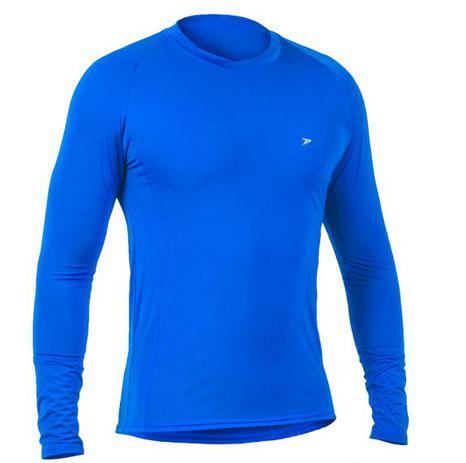 af431eee6f Camisa Térmica Poker Skin Basic II Manga Longa - Azul - Camisa ...