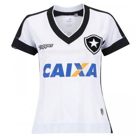 c3b007bb97 Camisa Topper Botafogo 3 (S N) 2017 - Feminino - Camisa de Time ...