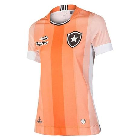 Camisa Topper Botafogo Esp.2016 Feminina 4137524 - Camisa de Time ... 11a98cb811b6c