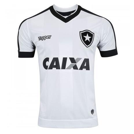 Camisa Topper Botafogo III 2017 Masculina - Camisa de Time ... 44e600e0cba8d