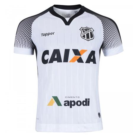 cdc4f13b10b2b Camisa Topper Ceará II 2017 Nº10 Masculina - Vestuário Esportivo ...