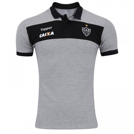 Camisa Topper Polo Atlético Mineiro Viagem Masculina - Vestuário ... e5cd61a927f6e