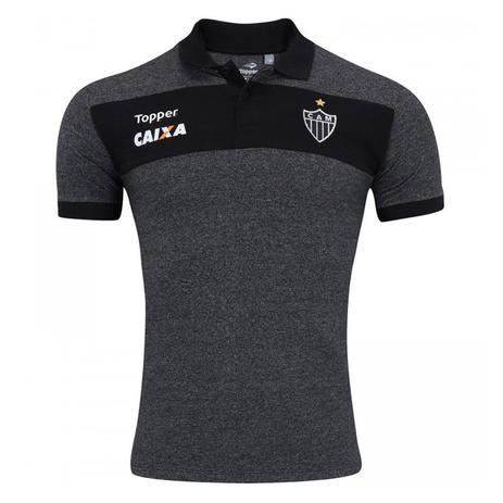 b32bbbfed82 Camisa Topper Polo Atlético Mineiro Viagem Masculina - Vestuário ...