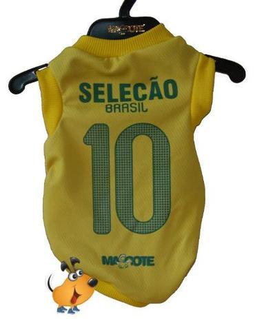 af297a53e5c66 Camisa Torcedor Mascote Seleção Brasileira Tamanho GG - Roupa e ...