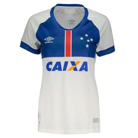 Imagem de Camisa Umbro Cruzeiro Oficial Blaa Vikingur 2018 Feminina