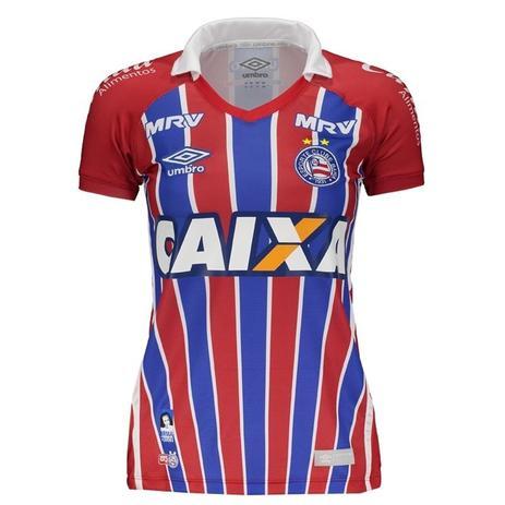75927b81aa Camisa Umbro Feminina Bahia OF.2 2016 3H00022 - Vestuário Esportivo ...