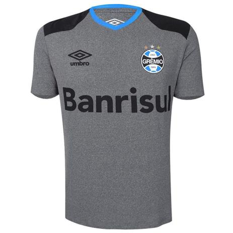 Imagem de Camisa Umbro Grêmio Aquecimento 2016 Masculina - Mescla